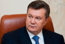 Yanukovych notes high dynamics of Ukrainian-Israeli relations