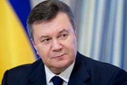 Yanukovych announces large-scale road construction next year