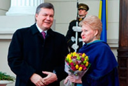 Lithuania to support European aspirations of Ukraine, Yanukovych hopes