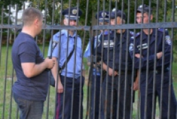 Brawl occurs near Sviatoshynsky district department of police in Kyiv