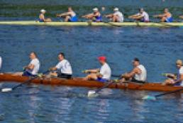 Down oars: The first international rowing regatta in Kyiv
