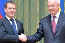 Azarov, Medvedev: No trade war