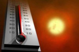 Hot weather prevails in Ukraine