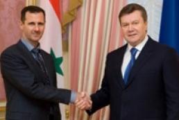 Ukraine opposes war in Syria