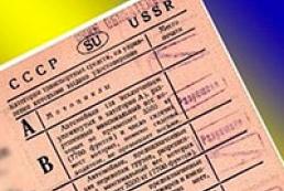 Rada allows using Soviet-type driving license