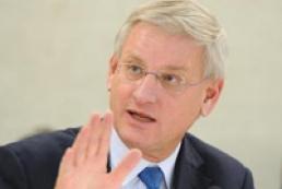 Bildt hopes Ukraine to take necessary internal political decisions