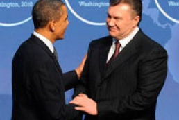 Yanukovych speaks with Obama