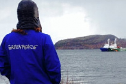 Greenpeace crew Ukrainian member ill with chronic bronchitis