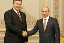 Yanukovych congratulates Putin on his birthday