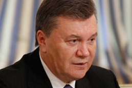 Yanukovych: Bill on treatment of prisoners abroad to be submitted to Rada soon