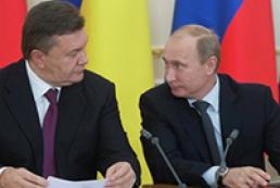 Yanukovych, Putin discuss Vilnius summit in Moscow