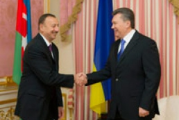 Yanukovych, Aliyev exchange state awards