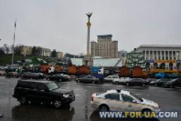 Rally in Maidan Nezalezhnosti goes calmly