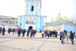 Monks not against presence of rally participants in St. Michael's Monastery territory
