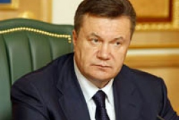 President outraged by events in Maidan Nezalezhnosti