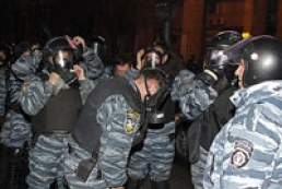 More than 100 police officers injured due to clashes in Bankova Street