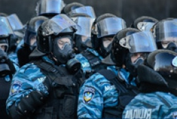 Additional forces of internal troops arriving in Kyiv