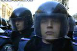 Government's quarter in Kyiv blocked by police