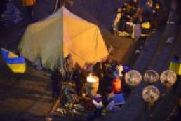 Night was calm in Kyiv's Euromaidan