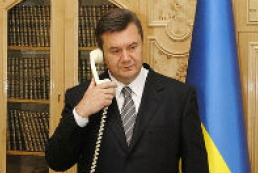 Yanukovych discusses situation in Ukraine with Biden