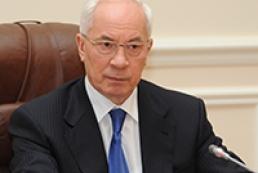 Azarov expresses condolences to Medvedev over plane crash in Irkutsk