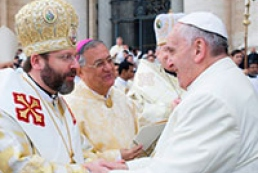 Pope Francis expresses his prayerful support to Ukrainians