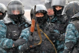 Ukrainian government lifts restrictions on use of water cannons in cold weather