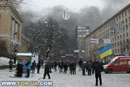 Situation remains calm in Hrushevsky Street