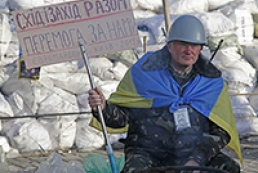 Protesters staying in Maidan despite 20 degrees of frost
