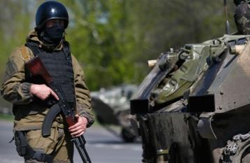 Турчинов поручил СНБО изучить вопрос введения военного положения на Донбассе