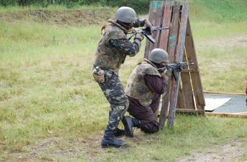 Бой на границе с РФ продолжается, задействована военная авиация