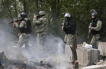Под Славянском обстреляли блокпост силовиков: один погиб, двое ранены