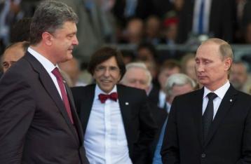Порошенко и Путин договорились о переговорах по ситуации на востоке