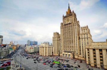 Россия направила Украине ноту протеста в связи с инцидентом на границе