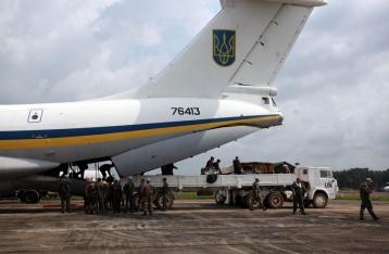 В Луганске сбит украинский военный самолет
