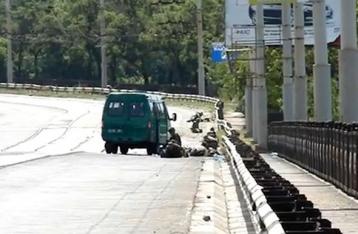 В Мариуполе обстреляли пограничников, есть погибшие