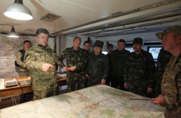 Порошенко ввів у дію план врегулювання ситуації на сході