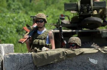 СНБО: За сутки на востоке обстреляны семь блокпостов украинской армии