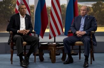 Обама пригрозил Путину очередными санкциями из-за ситуации в Украине