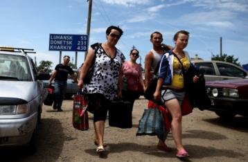 МНС РФ: У пунктах тимчасового розміщення перебуває 18 тисяч біженців з України