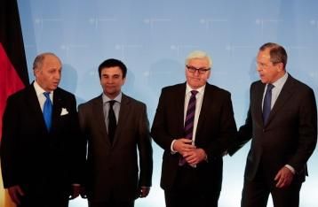 Главы МИД Украины, ФРГ, Франции и РФ согласовали меры для установления мира на Донбассе