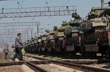 РФ приостановила передачу Украине военной техники из Крыма до прекращения АТО