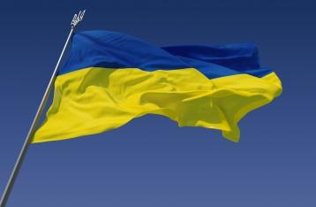 Над Артемовском и Дружковкой подняли флаг Украины