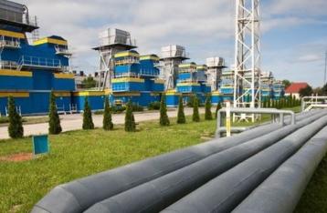 Украинские хранилища газа заполнены почти на половину