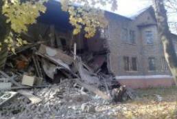 В Снежном Донецкой области в результате обрушения дома погибли четыре человека