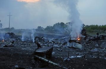 ГосЧС: На месте падения «Боинга» обнаружены тела 121 погибшего
