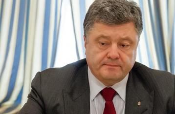 Порошенко: Война вышла за территорию Украины