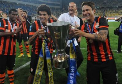 «Шахтер» в шестой раз выиграл Суперкубок Украины