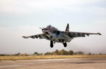 В СНБО считают, что два украинских СУ-25 сбили с территории России