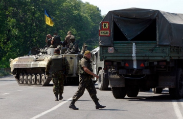 Под Волновахой 195 безоружных украинских военных попали в засаду